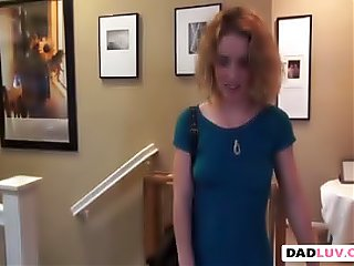 Step daughter Bonnie Grey toy missionary step dad