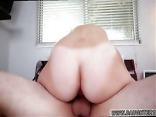 Mom and boss's daughter massage Alyssa Gets Her Way With