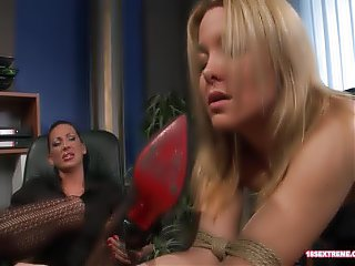 Mistresses Have Some Fun With Slaves