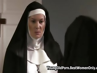 Nuns Enjoying Hot Sex In Convent 64 Voyeur