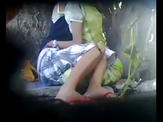 Indian desi lesbians in the forest