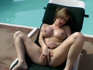 One lucky lesbian gets squirted all over at a party